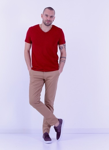 Cazador Tişört Bordo